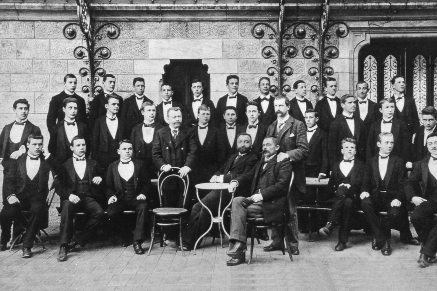 EHLfamily: in 1893, 27 students join the first hotel school in the world